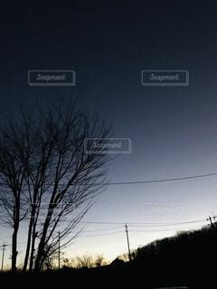 夜明け前の写真・画像素材[1855686]