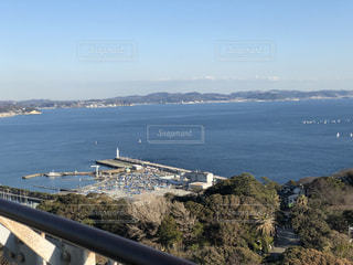 江ノ島の展望台から見る海の写真・画像素材[2357270]