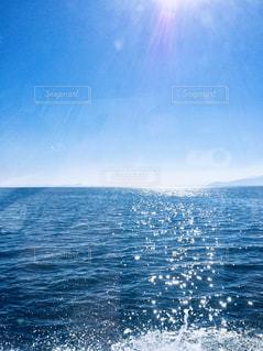 竹生島に向かうの写真・画像素材[1315866]