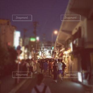 淀川花火大会に向かう🎆の写真・画像素材[1361547]