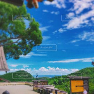 勝尾寺から望む大阪の写真・画像素材[1405572]
