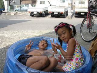 夏,屋外,水,人物,人,色,複数,熱中症対策