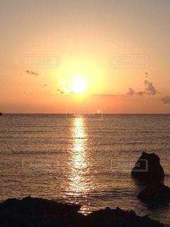 海,夕日,夕暮れ