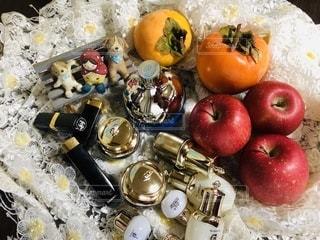 クリーム,雑貨,美容,リップ,柿,コスメ,化粧品,リップスティック,化粧水,リンゴ,オイル,お人形,乳液