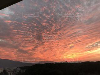 夕日,夕焼け,夕空,夕焼け雲,夕焼け空,イマソラ,赤い空