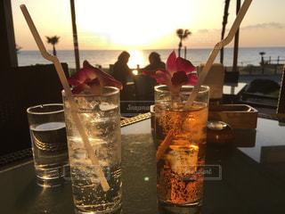 友情,糸島,パームツリー,palmtree,夕陽が見えるレストラン