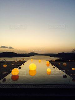 空,夕日,絶景,雲,水面,展望,オレンジ,夕陽,リゾート,瀬戸内海,穏やか,ベラビスタ
