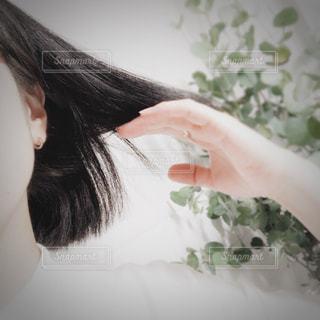 黒髪の写真・画像素材[3235465]