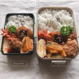 お弁当の写真・画像素材[3656608]