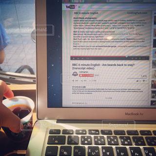 カフェ,屋内,英語,留学,MacBook,ノマド,コンピューター,朝活,エレクトロニクス,TOEIC,カフェ勉強