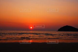 空,夕日,夕陽,香川,父母ヶ浜,父母が浜