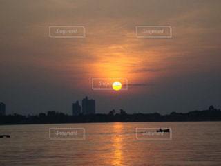 海,夕日,海外,タイ