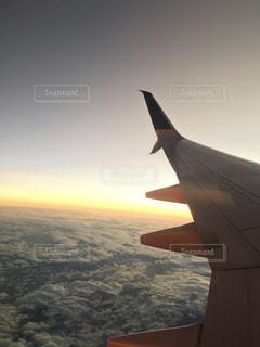 風景,空,夕日,絶景,海外,綺麗,飛行機,旅行,旅,航空機,怖い,世界,羽ばたく,高い
