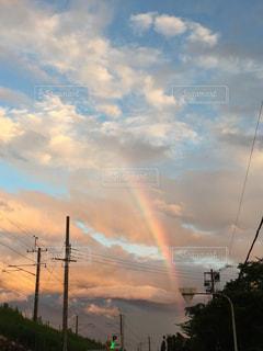 空に雲の群しをするの写真・画像素材[2423965]