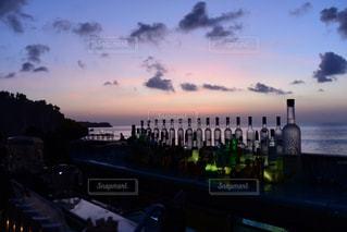 空,夕日,夕陽,バリ島,マジックアワー,インドネシア,ロックバー,アヤナリゾート