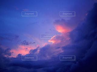 空,夕日,奄美大島