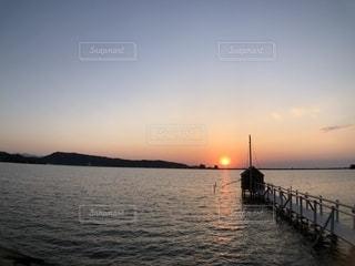 風景,綺麗,池,反射,夕景,コントラスト,湖畔,フォトジェニック