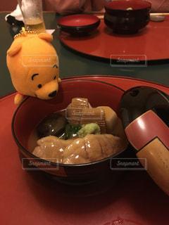 プーさんとお食事の写真・画像素材[1465442]