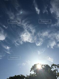 空,太陽,雲,散歩,日差し