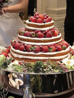 ウェディングケーキ!の写真・画像素材[2033468]