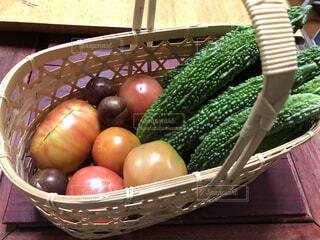 食べ物,屋外,トマト,野菜,食品,ゴーヤ,食材,フレッシュ,ベジタブル,自家栽培,自然食品