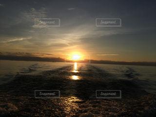 夕日,絶景,夕焼け,夕方,琵琶湖