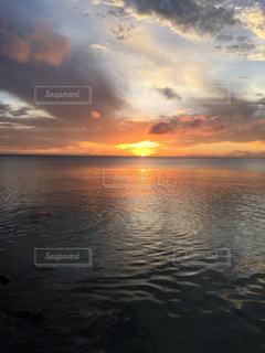 自然,海,夕日,夕暮れ,海岸