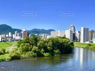 札幌市豊平川の写真・画像素材[1429486]