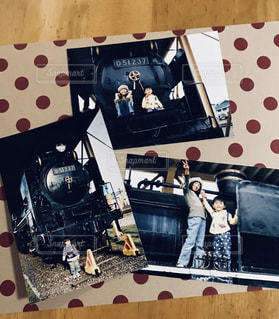 SLと記念撮影の写真・画像素材[1440918]