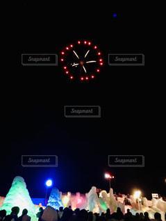 支笏湖氷濤祭りの写真・画像素材[1793920]