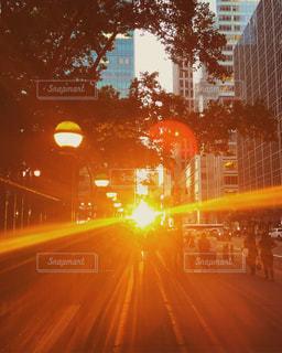 夕日,ニューヨーク,旅行,マンハッタン,通り,ミッドタウン,フォトジェニック,42nd Street