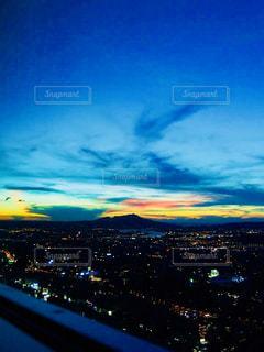風景,空,夕日,屋外,カラフル,雲,夕暮れ,旅行,台北