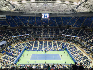 ニューヨーク,スポーツ,屋内,旅行,テニス,スタジアム,観戦,応援,USオープン