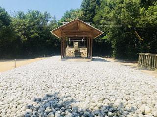 直島の神社の写真・画像素材[1320570]