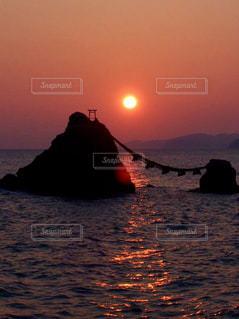 夫婦岩の写真・画像素材[1411873]
