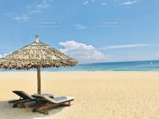 ダナンのプライベートビーチの写真・画像素材[1444883]