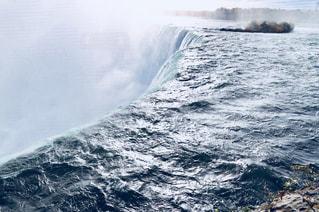 ナイアガラの滝 水面のアップの写真・画像素材[1448268]