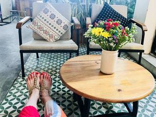 カフェで一休み♡の写真・画像素材[1693923]