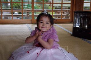 女の子,七五三,ピンクのドレス
