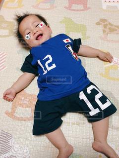 子ども,スポーツ,サッカー,日本,japan,男の子,ユニフォーム,応援,soccer,将来の夢はサッカー選手