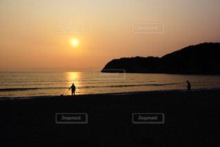 海,夕日,ビーチ,逗子,フォトジェニック,フォトジェ