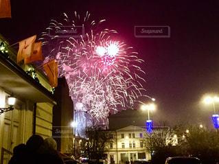 New Year Fireworksの写真・画像素材[1317694]