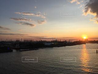 夕日,綺麗,幻想的,Snapmart,ハンブルク,フォトコンテスト