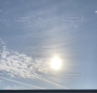 空の雲のクローズアップの写真・画像素材[2423556]