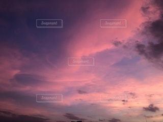 空,太陽,雲,夕暮れ,景色,鮮やか
