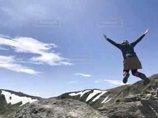 ジャンプの写真・画像素材[1421843]