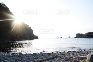 自然,風景,空,太陽,水面,海岸,光