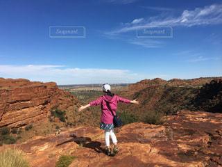 アウトドア,絶景,オーストラリア,ハイキング,冒険,達成感,達成,キングスキャニオン