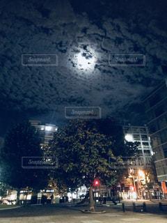 空,公園,秋,夜空,快晴,帰り道,ツーリング,四季,秋空,横浜市,鱗雲,石川町,中区,おぼろ月夜,友達と一緒
