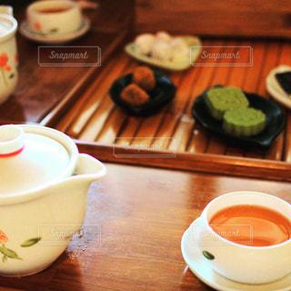 台湾,九份,台北,阿妹茶酒館,お茶セット